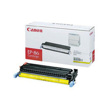 Canon EP-86 (13,000 Pages) High Yield Yellow Laser Toner Cartridge - OEM 6827A004AA