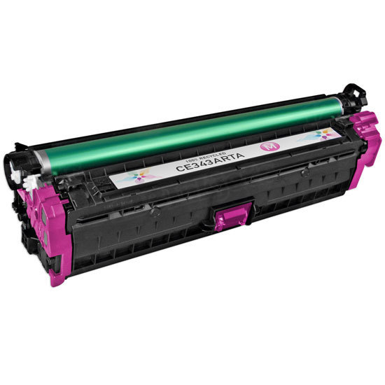 Remanufactured Replacement Magenta Laser Toner for HP 651A