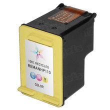 Remanufactured Replacement Ink Cartridge for Hewlett Packard CB304AN (HP 110) Tri-Color