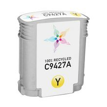 Remanufactured Replacement Ink Cartridge for Hewlett Packard C9427A (HP 85) Yellow