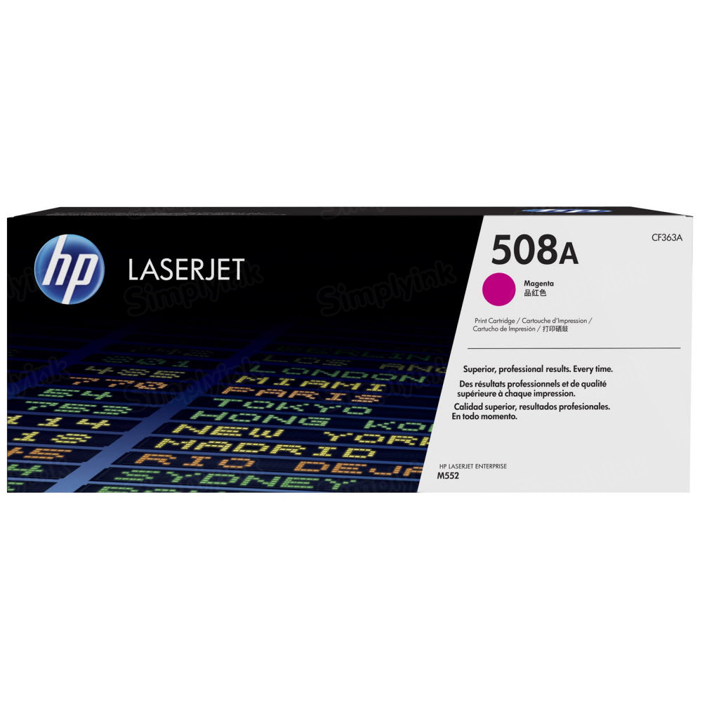OEM HP 508A Magenta Toner Cartridge