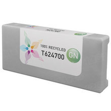 Remanufactured Replacement for Epson T624700 (T6247) 950ml Green Ink Cartridges