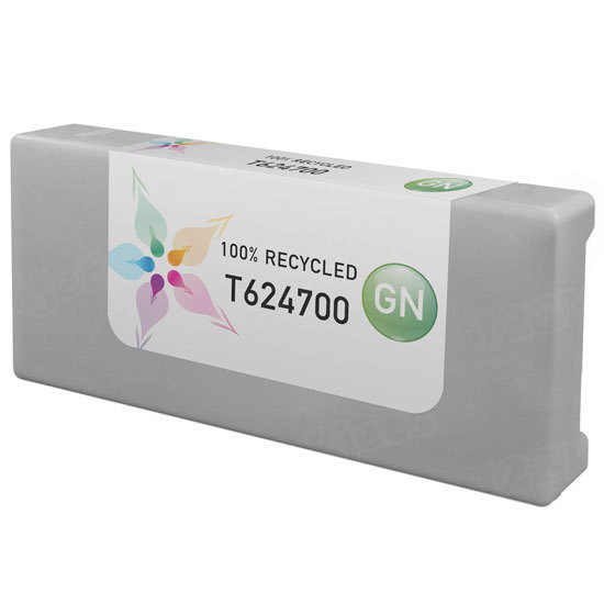 Epson Remanufactured T624700 Green Inkjet Cartridge