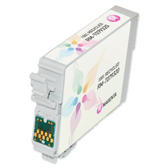 Epson Remanufactured T079320 HY Magenta Inkjet Cartridge for the Stylus Photo 1400