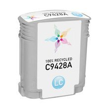 Remanufactured Replacement Ink Cartridge for Hewlett Packard C9428A (HP 85) Light Cyan