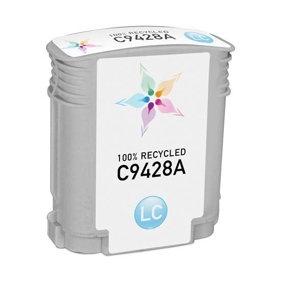 Remanufactured Replacement Light Cyan Ink for HP 85