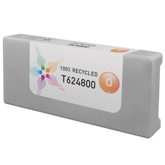 Epson Remanufactured T624800 Orange Inkjet Cartridge