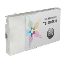 Remanufactured Replacement for Epson T616100 (T6161) Black Ink Cartridges