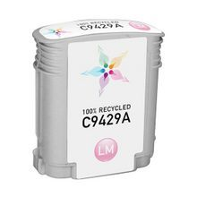 Remanufactured Replacement Ink Cartridge for Hewlett Packard C9429A (HP 85) Light Magenta