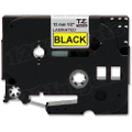 Brother TZe-631 1/2 Black on Yellow OEM Tape
