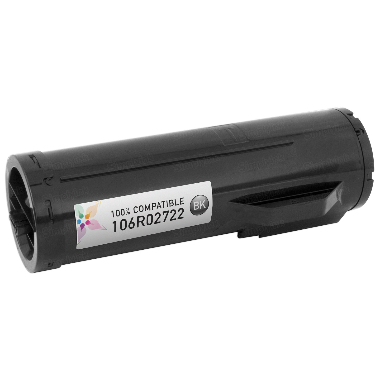 Compatible (106R02722) Xerox HY Black Toner Cartridge