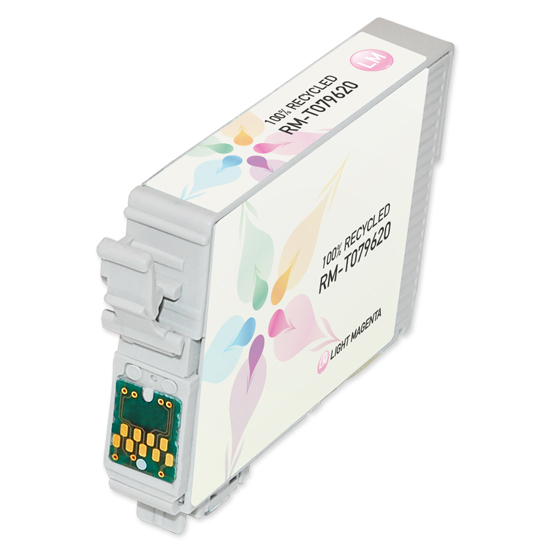 Epson Remanufactured T079620 HY Light Magenta Inkjet Cartridge for the Stylus Photo 1400