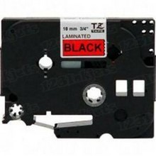 Brother TZe441 Black on Red OEM 3/4 Label Tape