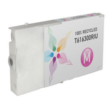 Remanufactured Replacement for Epson T616300 (T6163) Magenta Ink Cartridges