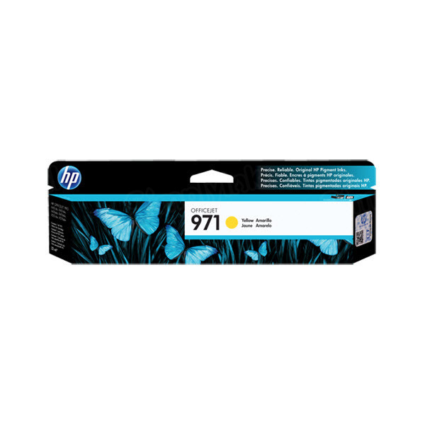 HP 971 Yellow Original Ink Cartridge CN624AM
