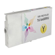 Remanufactured Replacement for Epson T616400 (T6164) Yellow Ink Cartridges