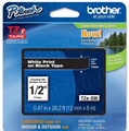 Brother TZe-335 1/2 White on Black OEM Tape