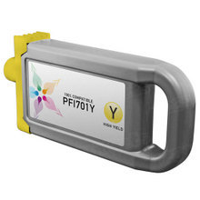 Compatible Canon PFI-701Y High Yield Pigment Yellow Ink Cartridges