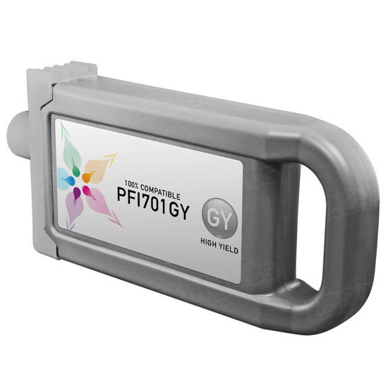 Canon Compatible PFI-701GY HY Gray Ink