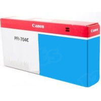 Canon PFI-704C Cyan OEM Ink Cartridge