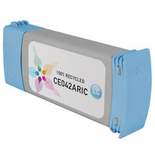 Remanufactured Replacement Ink Cartridge for Hewlett Packard CE042A (HP 771) Light Cyan