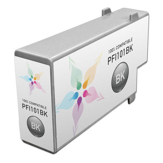 Canon Compatible PFI-101Bk Black Ink