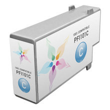 Compatible Canon PFI-101C Pigment Cyan Ink Cartridges
