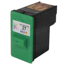 Remanufactured Lexmark 10N0227 (#27) Color Ink Cartridges
