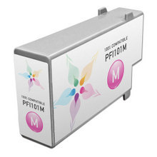 Compatible Canon PFI-101M Pigment Magenta Ink Cartridges