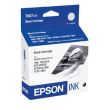 Original Epson T007201 Black Inkjet Cartridge (T007)