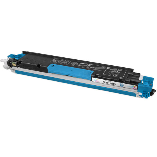 Remanufactured Replacement Cyan Laser Toner for HP 126A