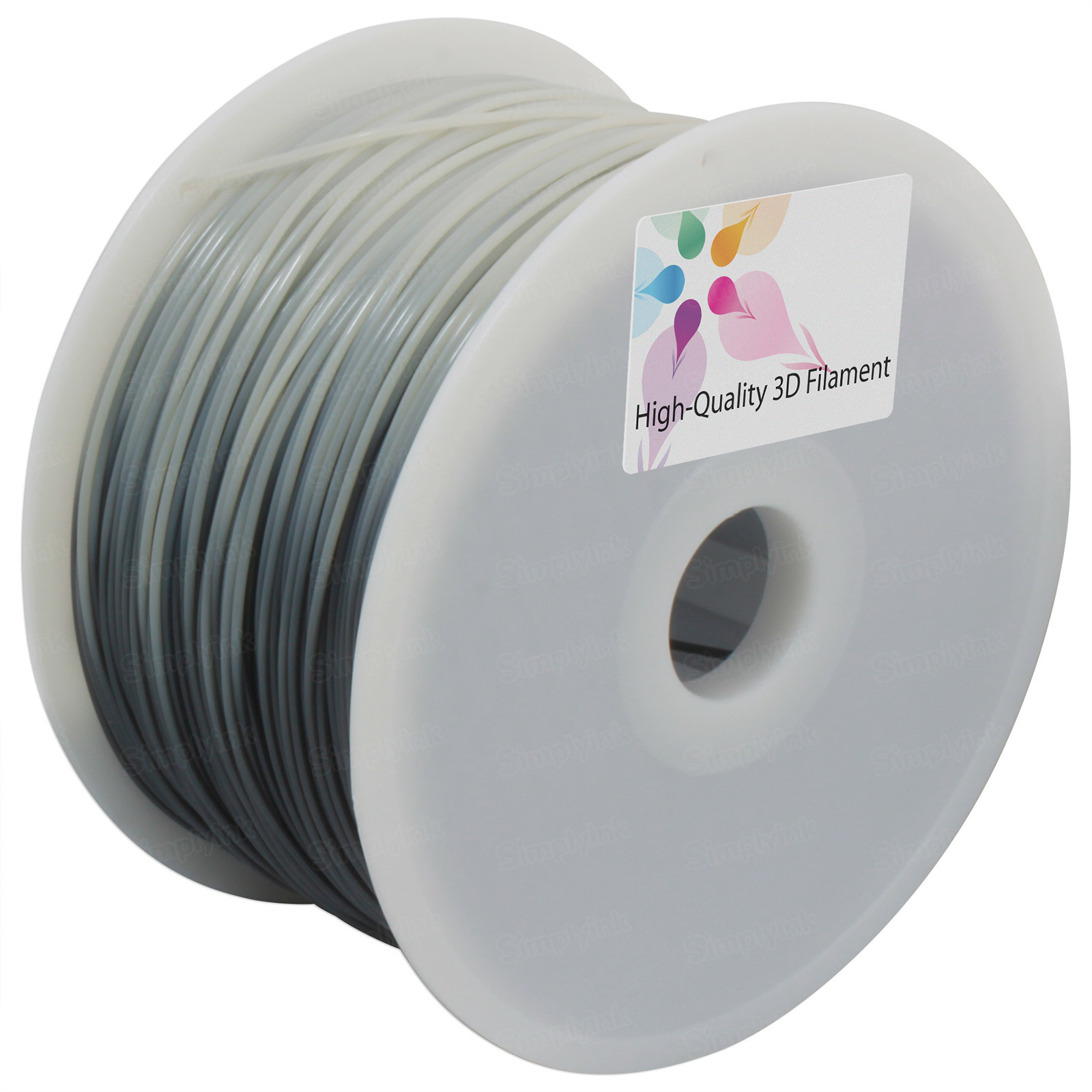 Color Changing 1kg 1.75mm Black to Natural Printer Filament