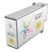 Compatible Canon PFI-101Y Pigment Yellow Ink Cartridges