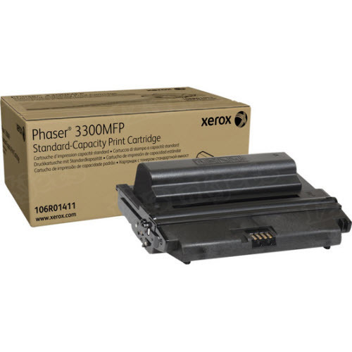 Xerox 106R01411 (106R1411) Black OEM Toner Cartridge