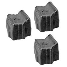 Compatible Xerox Set of 3 Black 108R00604 Solid Ink Blocks for the Phaser 8400