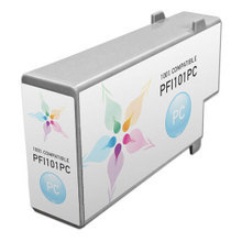 Compatible Canon PFI-101PC Pigment Photo Cyan Ink Cartridges
