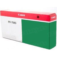 Canon PFI-704G Green OEM Ink Cartridge, 3868B001AA