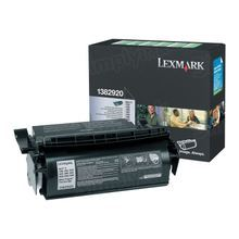Lexmark OEM Black Return Program Laser Toner Cartridge, 1382920 (7.5K Page Yield)