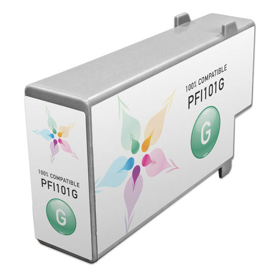Canon Compatible PFI-101G Green Ink