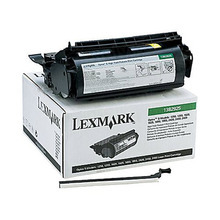 Lexmark OEM High Yield Black Return Program Laser Toner Cartridge, 1382925 (17.6K Page Yield)
