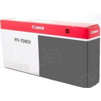 Canon PFI-704GY Gray OEM Ink Cartridge