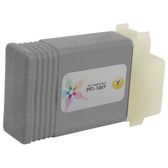 Canon Compatible PFI-106Y Yellow Ink