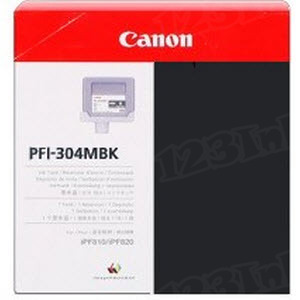 Canon PFI-304MBK Matte Black OEM Ink Cartridge