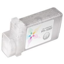 Compatible Canon PFI-103GY Pigment Gray Ink Cartridges