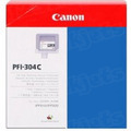 Canon PFI-304C Cyan OEM Ink Cartridge