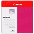 Canon PFI-304M Magenta OEM Ink Cartridge