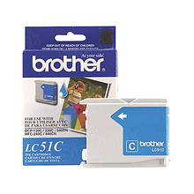 Brother LC51C Cyan OEM Ink Cartridge
