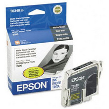 Original Epson T034820 Matte Black Inkjet Cartridge (T0348)