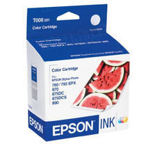 Original Epson T008201 Color Inkjet Cartridge (T008)