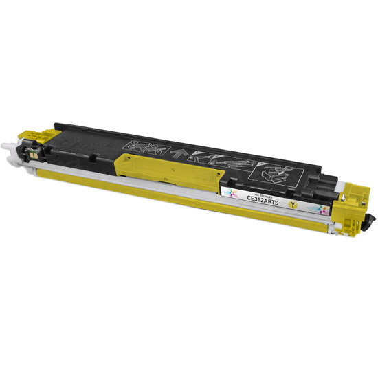 Remanufactured Replacement Yellow Laser Toner for HP 126A